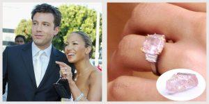 Jennifer Lopez - Ben Affleck engagement ring